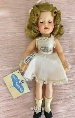 Shirley Temple Gift Set 12 Doll & 4 Outfits withAccessories Gold Star Box Ideal