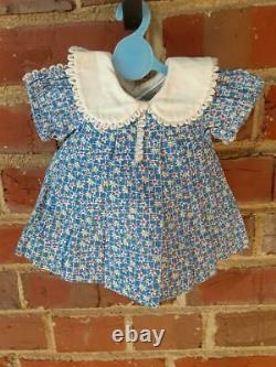 Shirley Temple Loop Dress for 18 in Doll vintage Ideal for composition doll