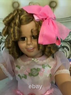 Shirley Temple Playpal Doll 33 Danbury Mint + Poor Little Rich Girl Figurine