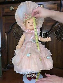 Sweet Antique Compo. Shirley Temple Doll