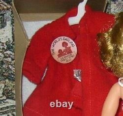 VINTAGE IDEAL 1950's SHIRLEY TEMPLE WITH BOX 12 OUTFIT TAG COAT & HAS PANTS