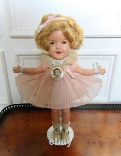 Vintage 1930s Ideal 11 Composition Baby Take a Bow Shirley Temple Doll