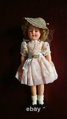 Vintage 1950's Ideal #9500 12 Shirley Temple Doll in Original Box