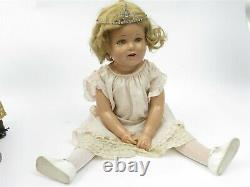 Vintage 27 Ideal Composition Shirley Temple Doll