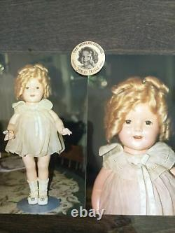 Vintage All-Composition Mint Shirley Temple 18 Doll