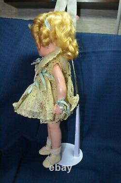 Vintage Beautiful Composition 13 Shirley Temple Doll Original Dress Pin PLUS