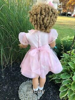 Vintage Beautiful Shirley Temple Playpal Doll Danbury Mint (Lovee Co) 33