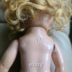 Vintage Doll Ideal SHIRLEY TEMPLE Composition 11 1930s Celebrity Some TLC