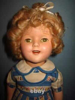Vintage Ideal Composition Shirley Temple Doll Rare Outfit