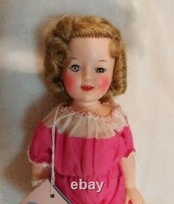 Vintage Ideal Shirley Temple Doll, 12 IN 1950s Shirley Temple Vinyl All Original