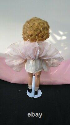 Vintage Rare Beautiful Composition 13 Shirley Temple Doll Original Dress Pin