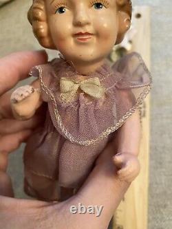 Vintage Rare Larger Size 9 1930s Shirley Temple All Original Japan Compo Doll