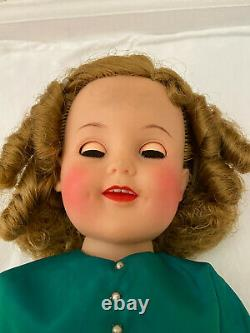Vintage Shirley Temple Ideal Vinyl Doll (Ideal ST-19)