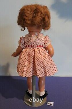 Vintage Shirley Temple by Ideal, Composition Doll 17