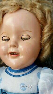 Vintage composition shirley temple doll